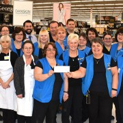 Staff at the Penticton Walmart Supercentre are directing $30,000 in charitable funding to the South Okanagan Similkameen Medical Foundation's campaign to provide medical equipment for the new tower at Penticton Regional Hospital.