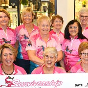 The Survivorship dragon boat team of breast cancer survivors reflects their strong community support with a $30,000 donation to the South Okanagan Similkameen Medical Foundation.  The money will help provide medical equipment for the Penticton Regional Hospital expansion.