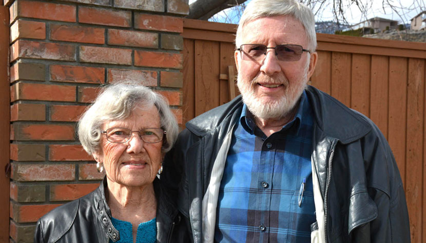 Phyllis and Bert Terry have found that moving to smaller communities has paid huge benefits in their lives. Now they are making a sizeable donation to Penticton Regional Hospital through the SOS Medical Foundation.